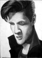 Matt Smith by JediBandicoot