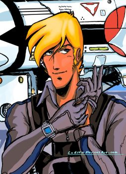 ROBOTECH: Roy Fokker by LeElf