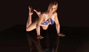 Tina Armstrong - Gravure Patriotism - 09 by HentaiAhegaoLover