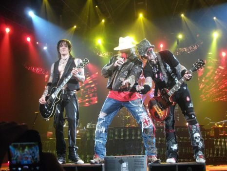 GUNS N' ROSES at PARIS BERCY 2012 by arienafer