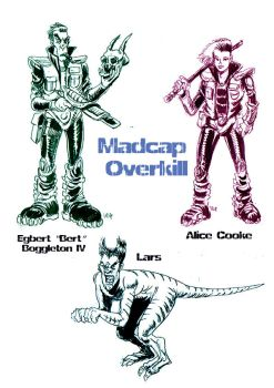 Madcap Overkill my design character by Marzookie