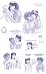 Sweet shower moments by ErinPtah