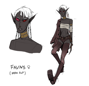 Favns - new OC design by Kociepierogi