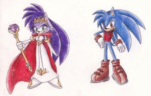 Sonic's Parents by TheBlueRing