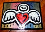 Angel Heart ACEO by mintdawn