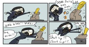 dishonored 2, doodles 22 by Ayej