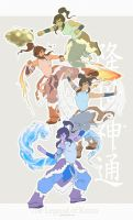 Legend of Korra by jinzilla