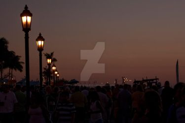 Mallory Square at Sunset by strongerthanyou