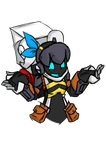 Spiral Knights: Shrugging Kozma ver. RM by swampster12