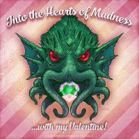 Cthulhu puts the love in Lovecraft by SuperEdco
