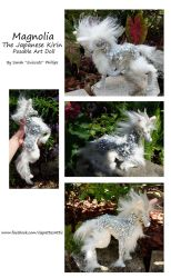 Magnolia The Japanese Kirin Posable Art Doll by Eviecats