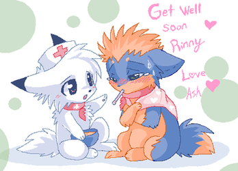 Get well soon by Ash-Dragon-wolf