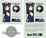 YCH Page Code Commission - For Non-Core by LaraLeeL