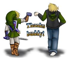 Thanks buddy! by CP-BaM-BaM