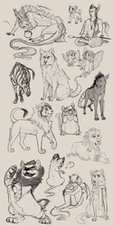 January Sketches 2015 by Chipo-H0P3