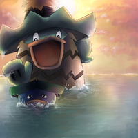 Ludicolo and Lotad