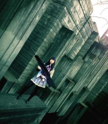 Homura in the World of Pillars by Chowing