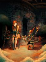 Rumpelstiltskin: totc project by ChristmasSocks