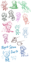 Sketch Stream Requests by mayoujii