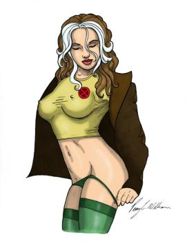 Rogue Striptease by Romey1973