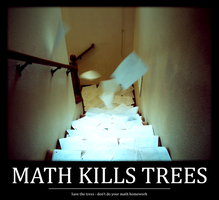 Math Kills Trees by Blackhole12