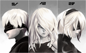 Nier Portrait Set by Vibratix