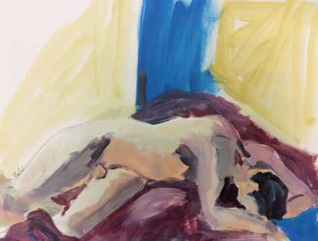 ArtisTTable's Figure drawing marathon -Zwolle 4 by Anipo