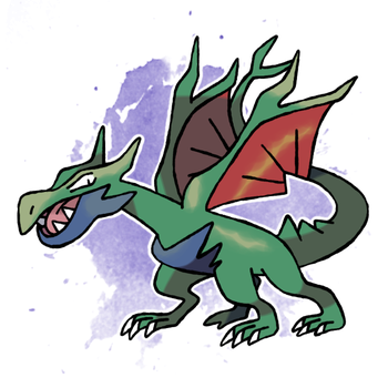 Dragon Fakemon For Sale by DarkySG