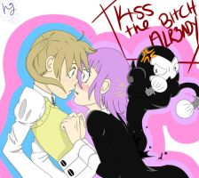 Kiss The Bitch by purplehairedluv