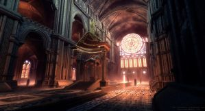 UDK - The Cathedral by TheRealFroman