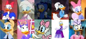 Female Hero of the Month - Daisy Duck by polskienagrania1990