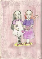 Lillian and Orla by Persphonefallen