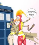 Doctor Fire Who Storm Confusion by dippydude