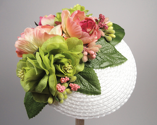 Fascinator - a glimpse at spring (sold) by Sundry-Art