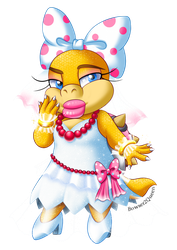 Bride Wendy Koopa Collab by Bowser2Queen