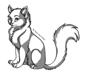 Cat free line art by NaLa-aka-Umka