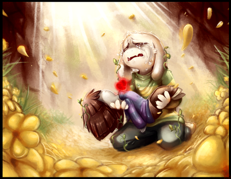 I Couldn't Save them - Undertale Asriel by WalkingMelonsAAA