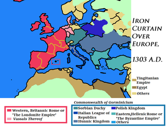 Iron Curtain in the 14th Century by Goliath-Maps