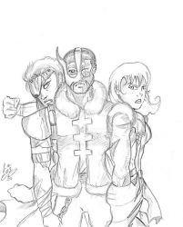 Trio Concept art by TigerDreams