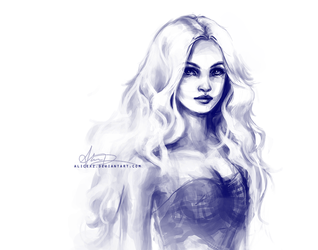 Daenerys sketch by alicexz