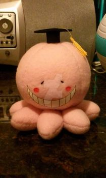Koro-sensei Blush Plush by KisaCosplay
