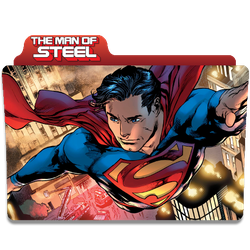 The Man Of Steel Variant 1 by DCTrad