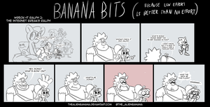 BANANA BITS- The Internet Breaks Ralph by TheAlienBanana