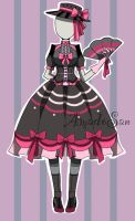 victorian loli outfit adoptable closed by AS-Adoptables