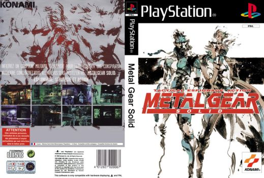 Cover : Metal Gear Solid by Lostmindy