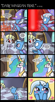 .Comic 29: Dark Magician Trixie. by ZSparkonequus