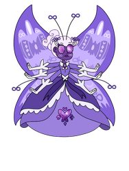 Galaxias butterfly form by infaminxy