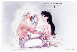 Inuyasha - Confusion by Technoelfie