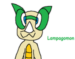 REQUEST - Lampagomon by HansCampanella