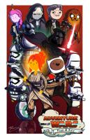 Adventure Wars - TFA - Collab w/ Mike Vasquez by JoeHoganArt